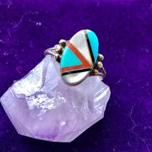 Jewelry - Vintage sterling and turquoise southwest ring